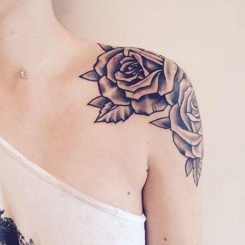 Roses Sleeve Tattoos Tumblr 22989 Loadtve