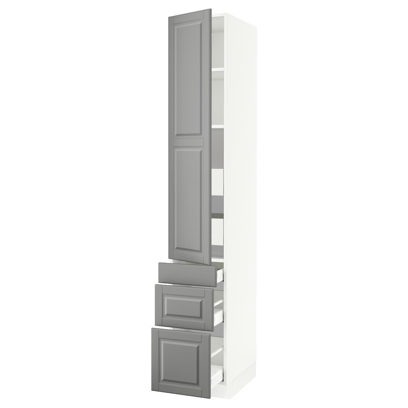 Ikea Sektion White High Cabinet W Door 5 Drawers Frame Colour