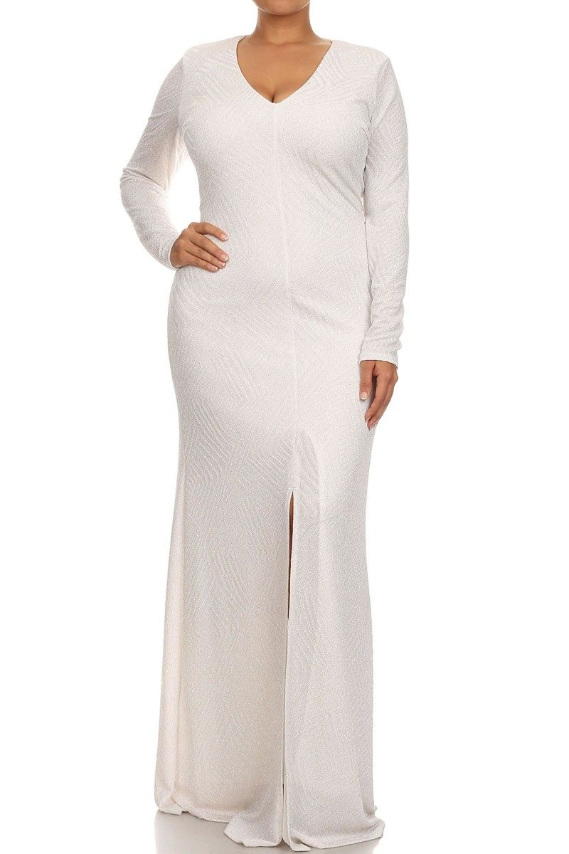 White queen latifah geometric pattern maxi dress all bout white