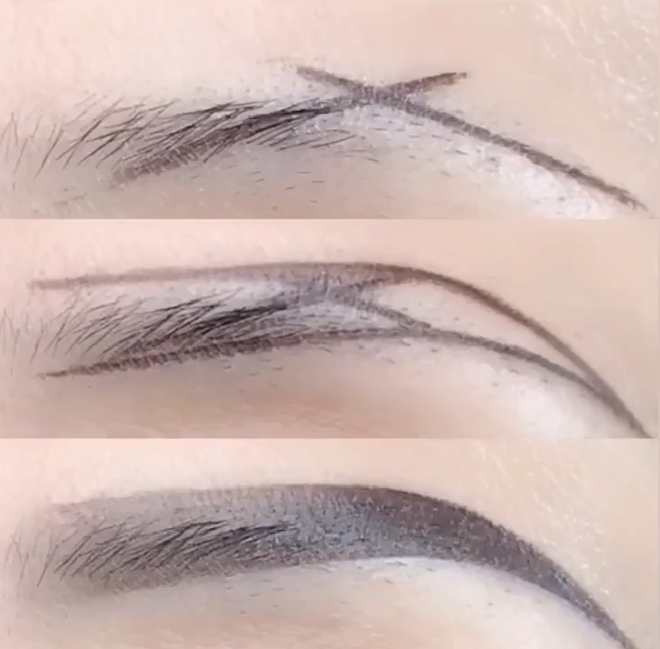 Simple and easy to learn eyebrow makeup -   22 makeup Tips videos ideas