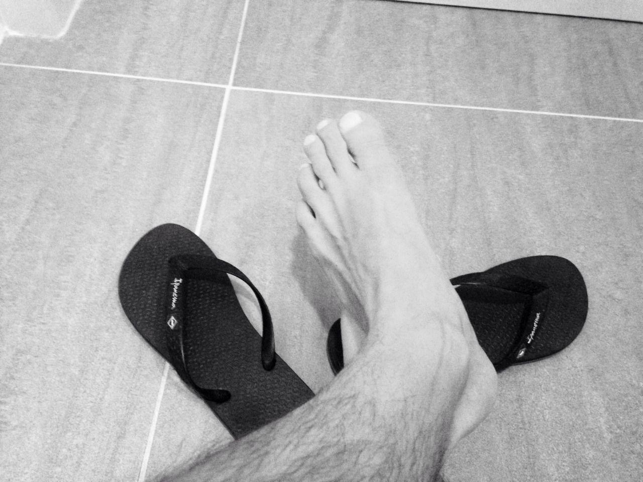 Teen feet hairy bare foot — img 14