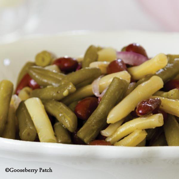 Old Fashioned Three Bean Salad Recipe