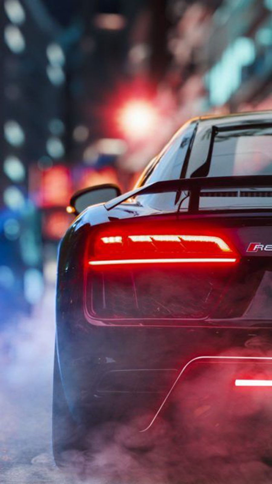 Back View Supercars Hd Wallpapers Free Download Bestwallpapers Super Cars Audi Wallpapers Hd Wallpaper