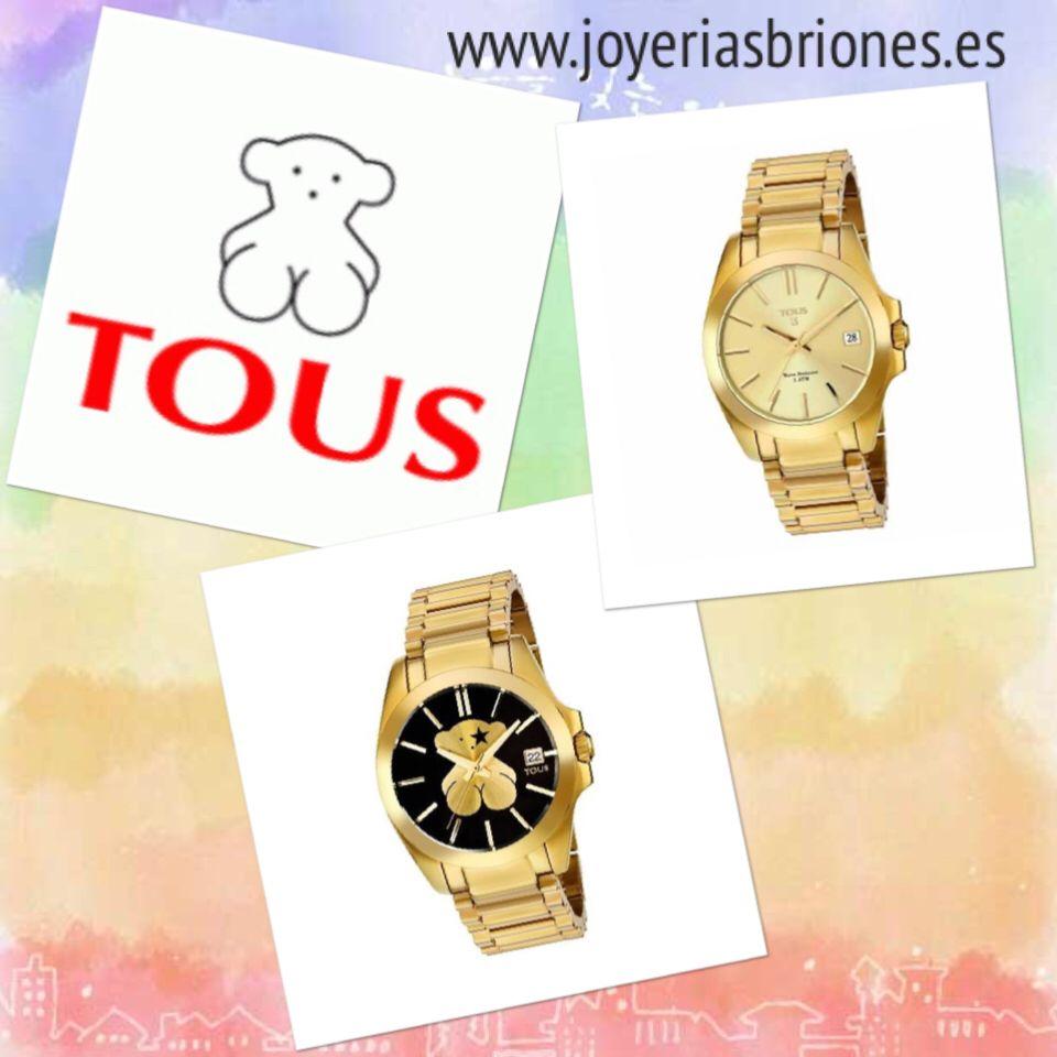 Tous Watches. Ya disponible en tienda y en www.joyeriasbriones.es