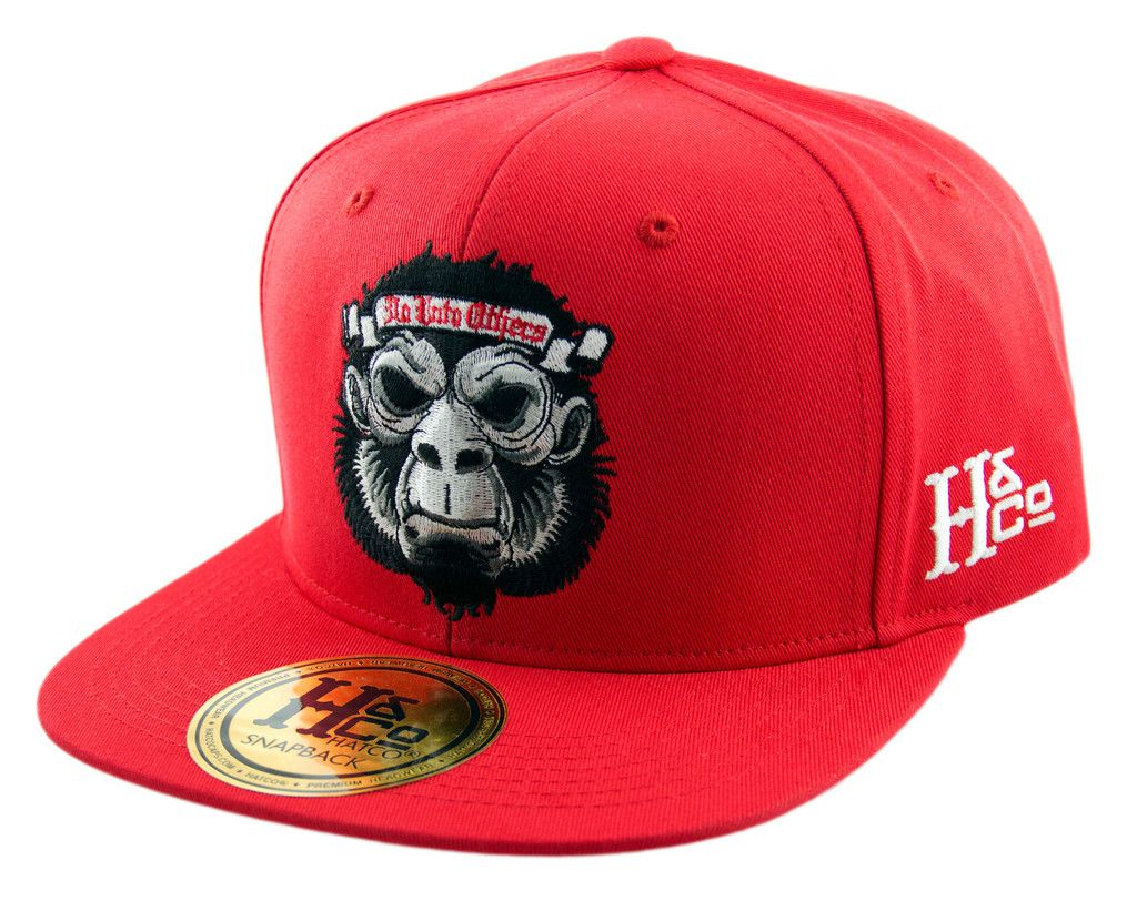 Do Unto Others Gorilla Snapback Cap - Red Twenty One Pilots Hat 346a0a05858f