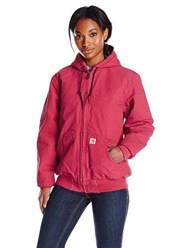 d9305fa8686e4 Carhartt Women's Sandstone Active Jacket Camo Lined, Crab... https://