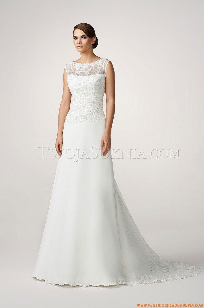 Vestido de novia Gala Celeste 2013