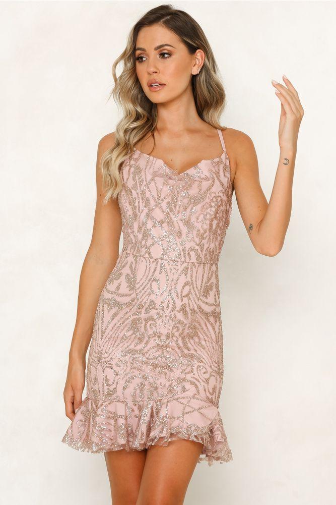 e5eeefc12cbe Sky Paradise Dress Blush in 2019