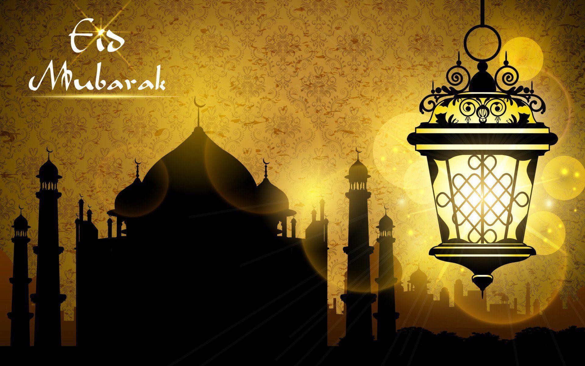 Full HD Eid Mubarak 2016 Desktop Wallpaper Download Free