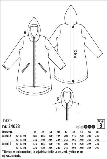 732626bc Jakke - 24023 - Stof & Stil | OUTDOOR - FASHION | Jakke, Stof og ...