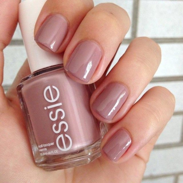 Mauve Pink Nail Polish Essie - Absolute cycle