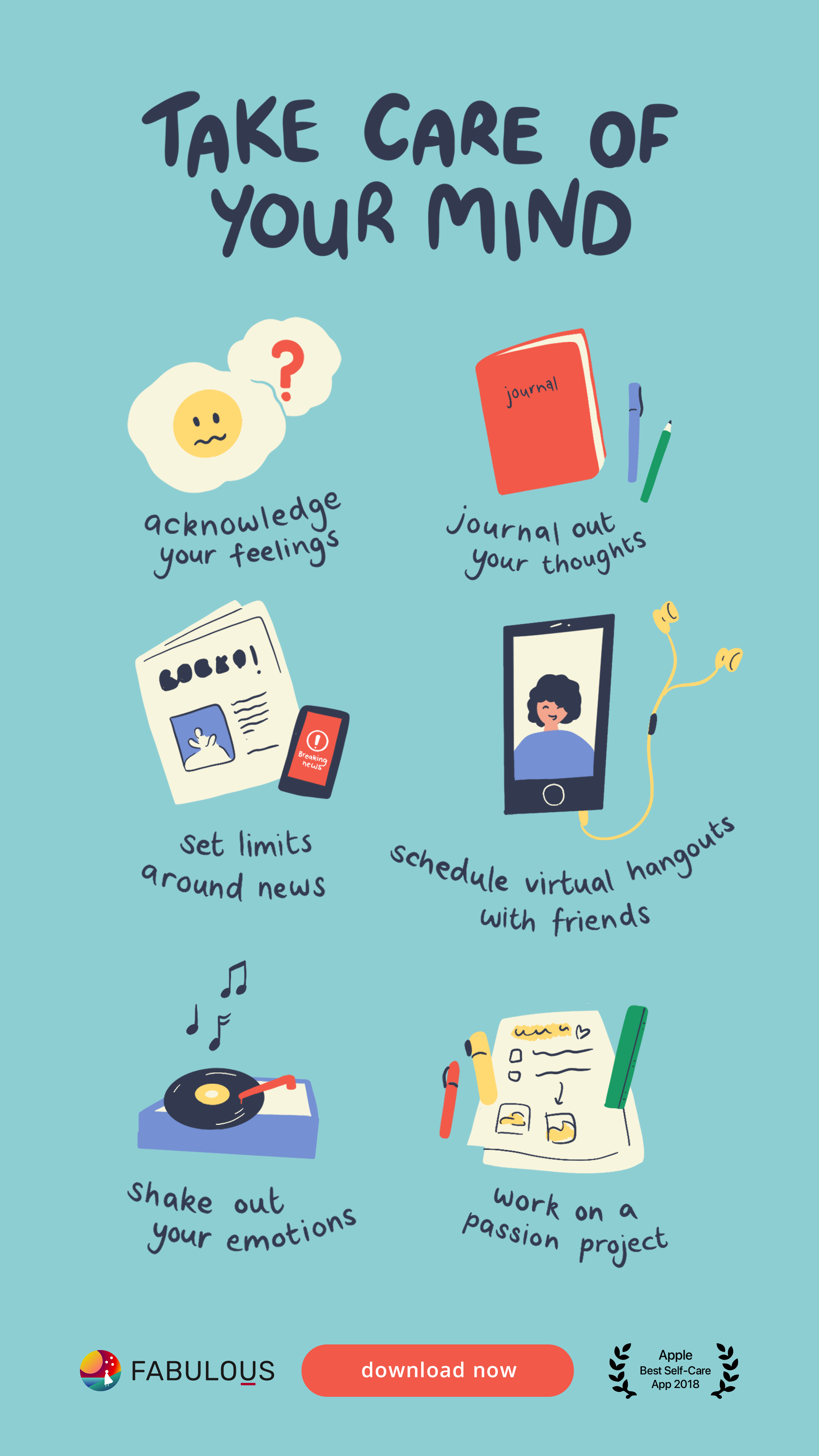 Tips self care 40 Self