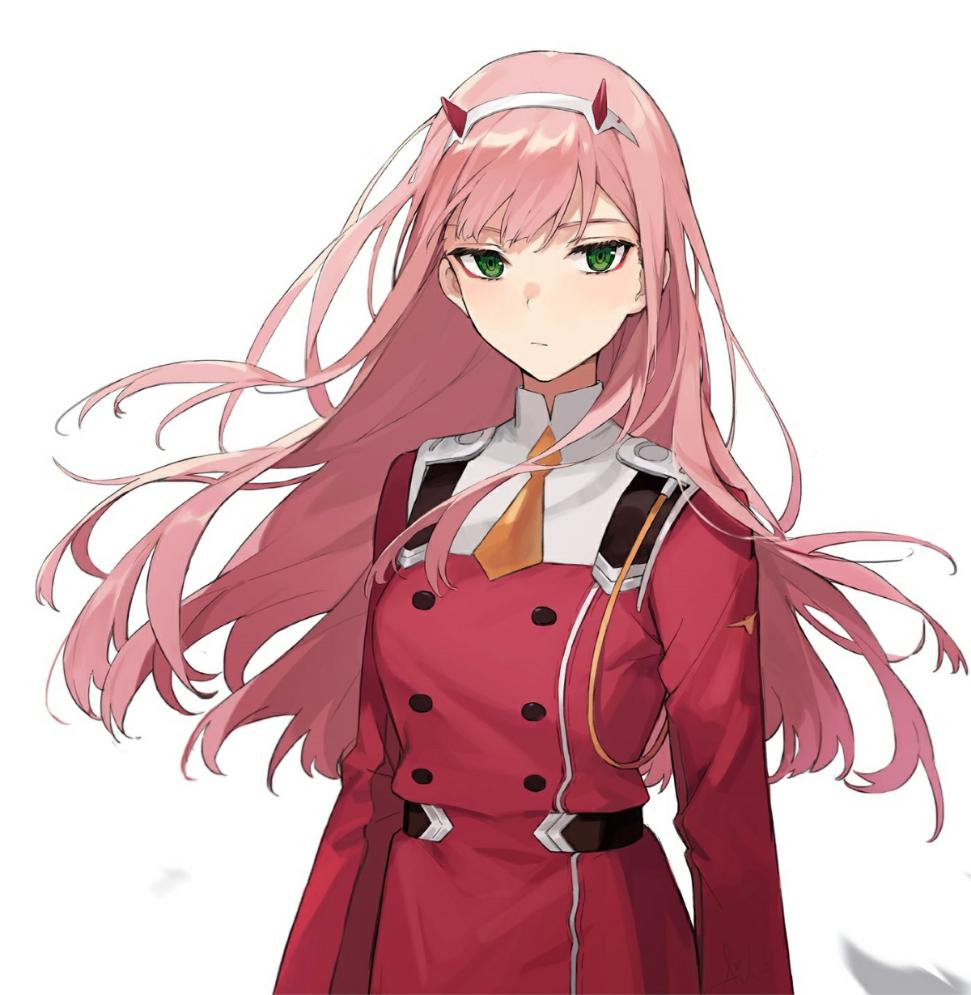 02 Zero Two Personagens De Anime Personagens De Anime Feminino Anime