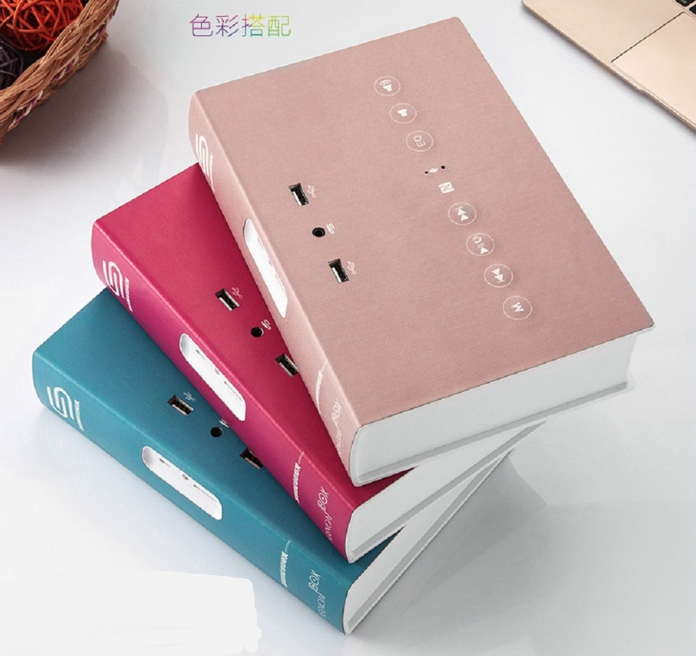 67.97$  Buy now - http://aliii0.shopchina.info/1/go.php?t=32806436322 - New Music Book Wireless Portable Bluetooth Speaker Super Bass Hifi Stereo Book Shape Design with 5V 1.1/2.1A Power Bank   #aliexpress