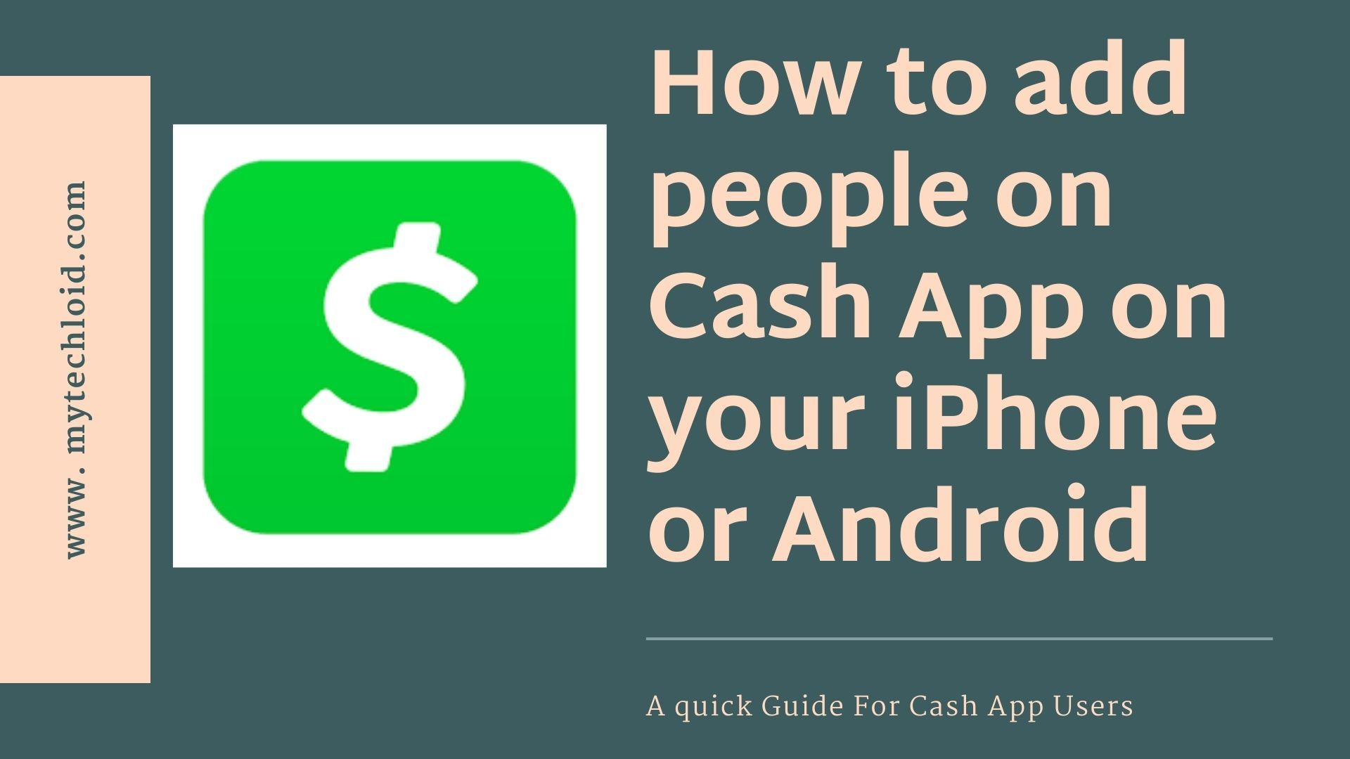 How To Add People On Cash App On Your Iphone Or Android App Cash Google Store