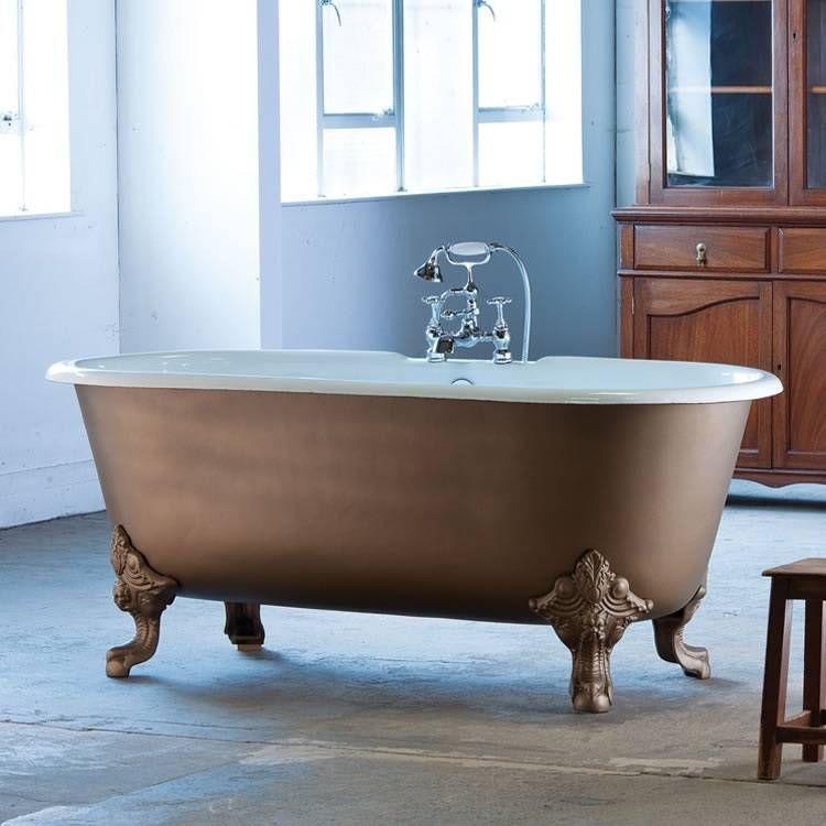 Cheverny Cast Iron Bath - Double Ended | Cast Iron Baths | Pinterest ...
