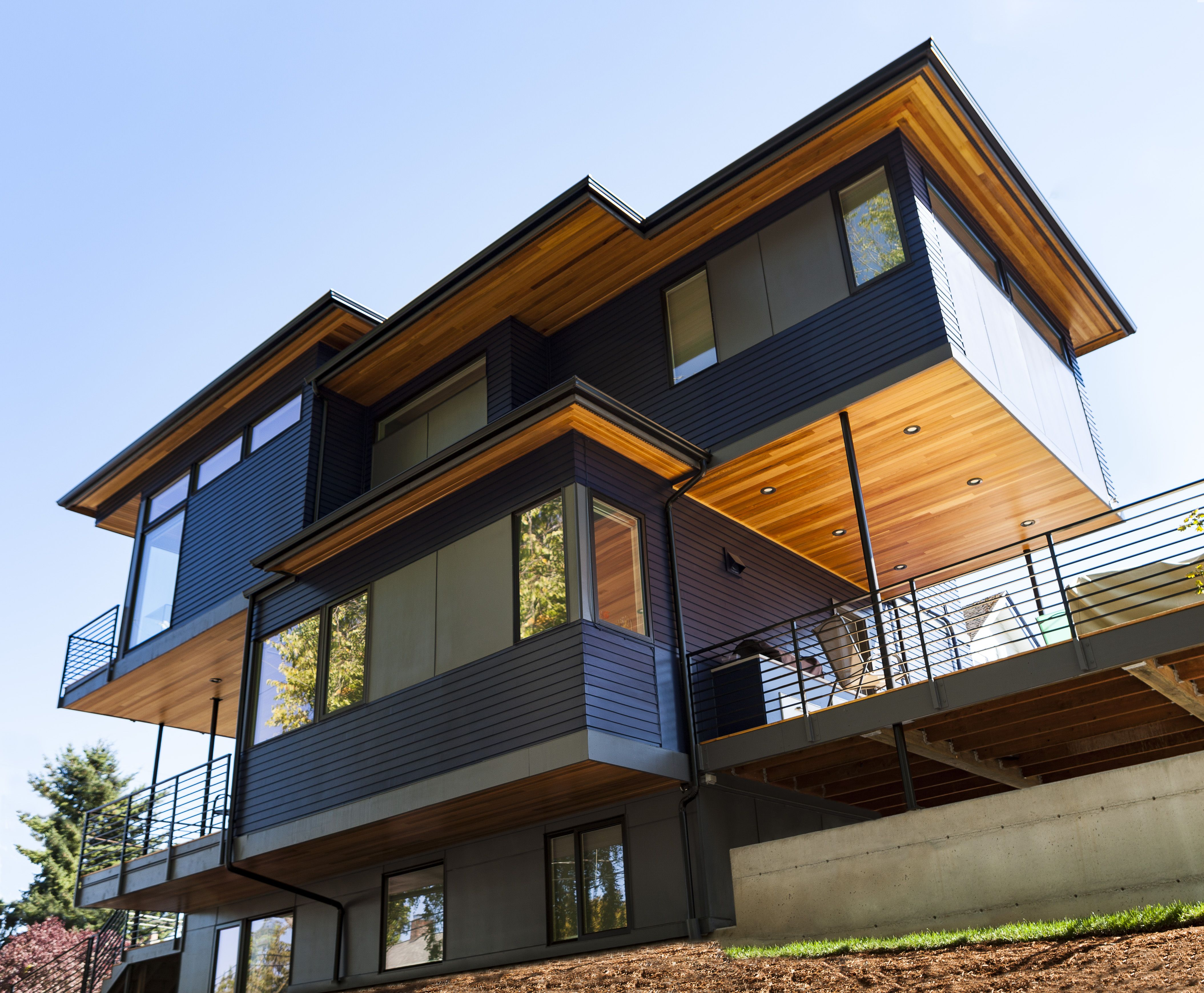 Modern Home In The Capitol Hill Neighborhood Of Seattle Washington Designed By First Lamp Architects First Lamp Arc Architect Shou Sugi Ban Design Build Firm
