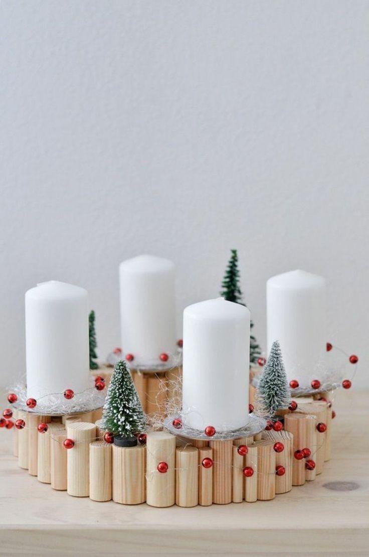 40 adventskranz ideen und die geschichte des. Black Bedroom Furniture Sets. Home Design Ideas