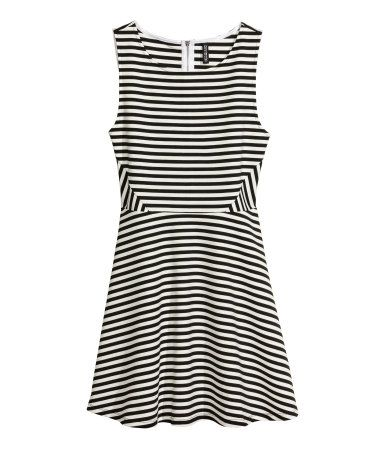 Image result for striped dress h&m