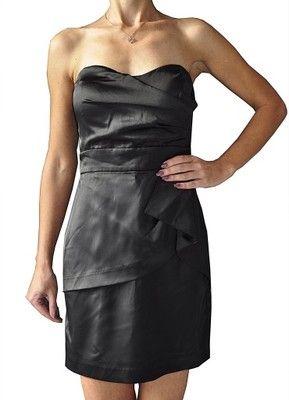 Clubbing Elegancka Czarna Sukienka 38 40 6571002779 Oficjalne Archiwum Allegro Fashion Dresses Strapless Dress