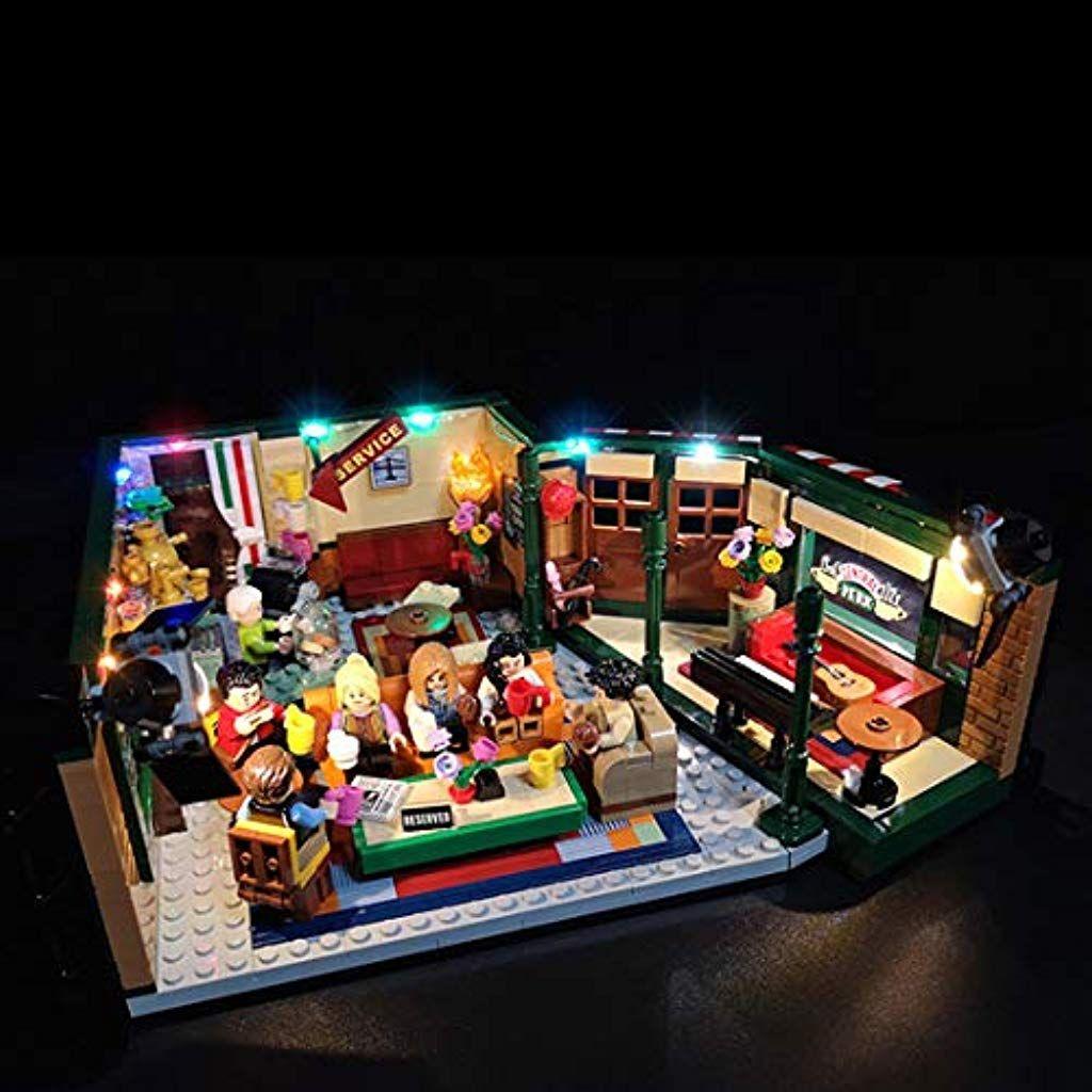 K9ck Led Licht Set Fur Lego Modell Diy Leuchtende Bausteine Beleuchtung Kit Fur Lego Ideas Friends Central Perk Modell Nicht Enth Led Licht Led Beleuchtung