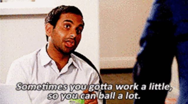 True. Business, marketing, funny, travel, work life, meme, work meme | Parks  and rec quotes, Tom haverford, Parks n rec