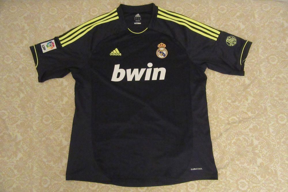 best service bdb9d 57906 Real Madrid adidas 2012/2013 away Jersey (blank back) XL ...