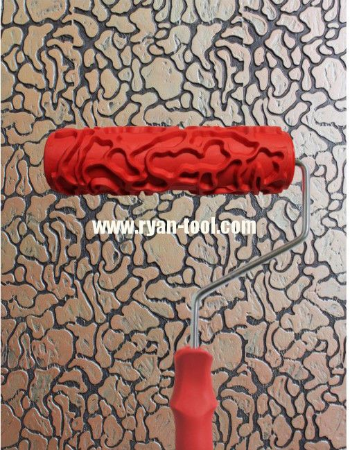 Printed Paint Rollers patterned paint rollers | pattern design paint roller pictures