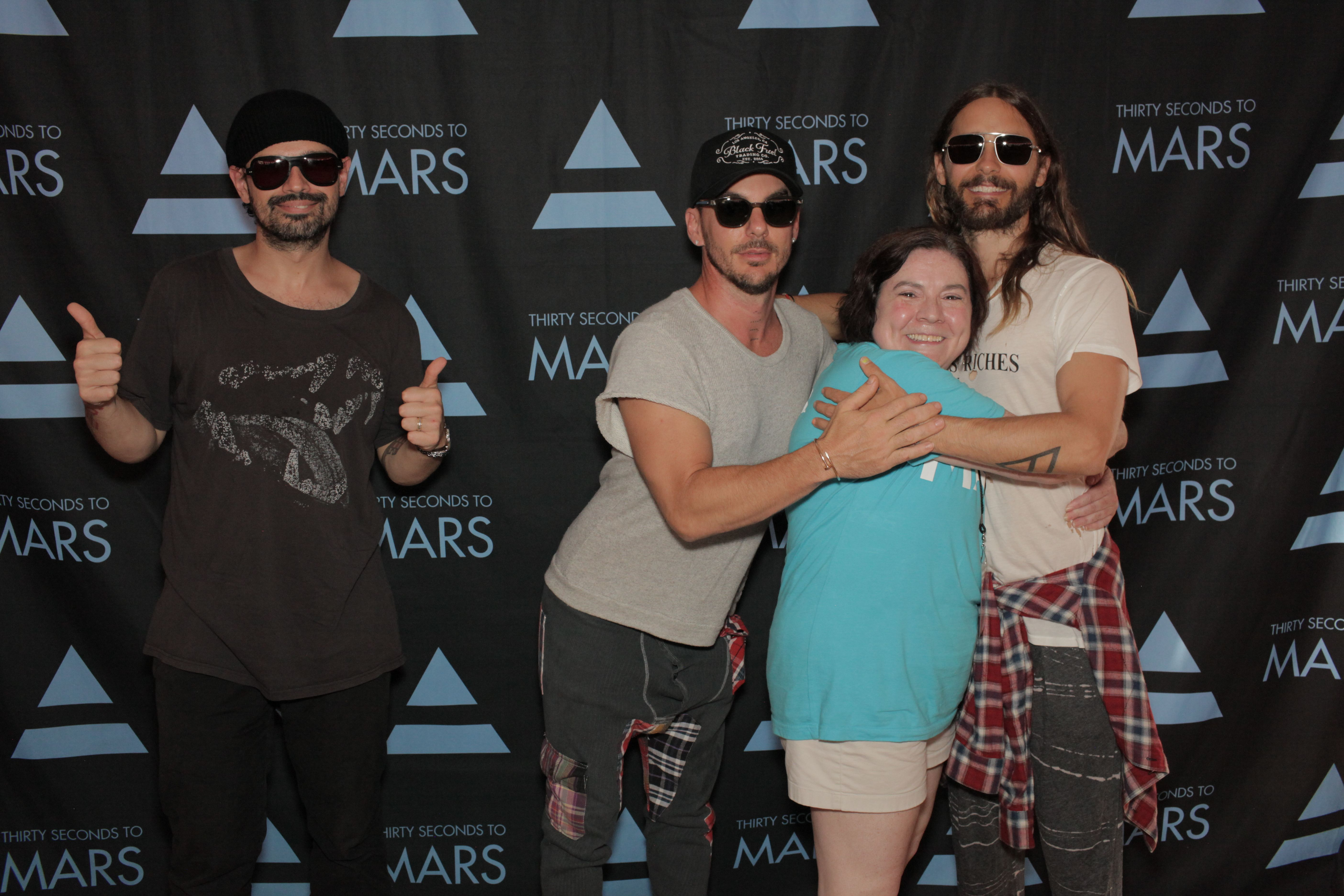 Vip meet greet with 30 seconds to mars aug 29 2014 30 vip meet greet with 30 seconds to mars aug kristyandbryce Gallery