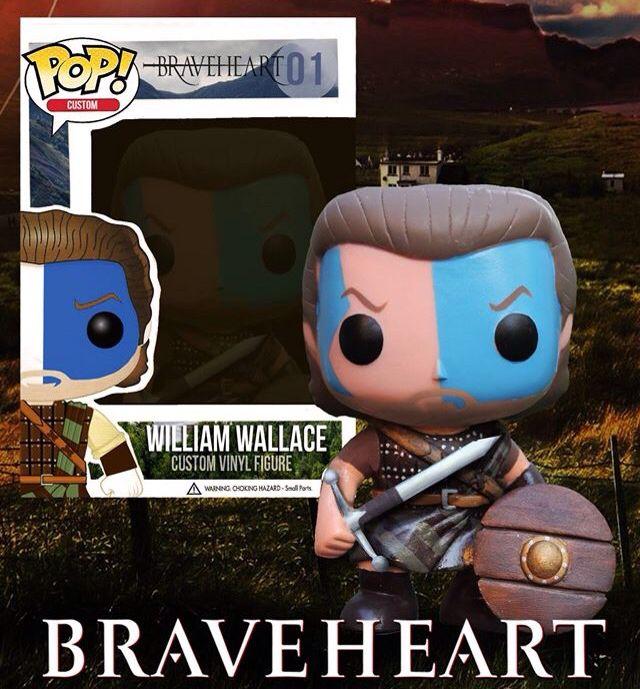 Custom Funko Pop! Braveheart William Wallace