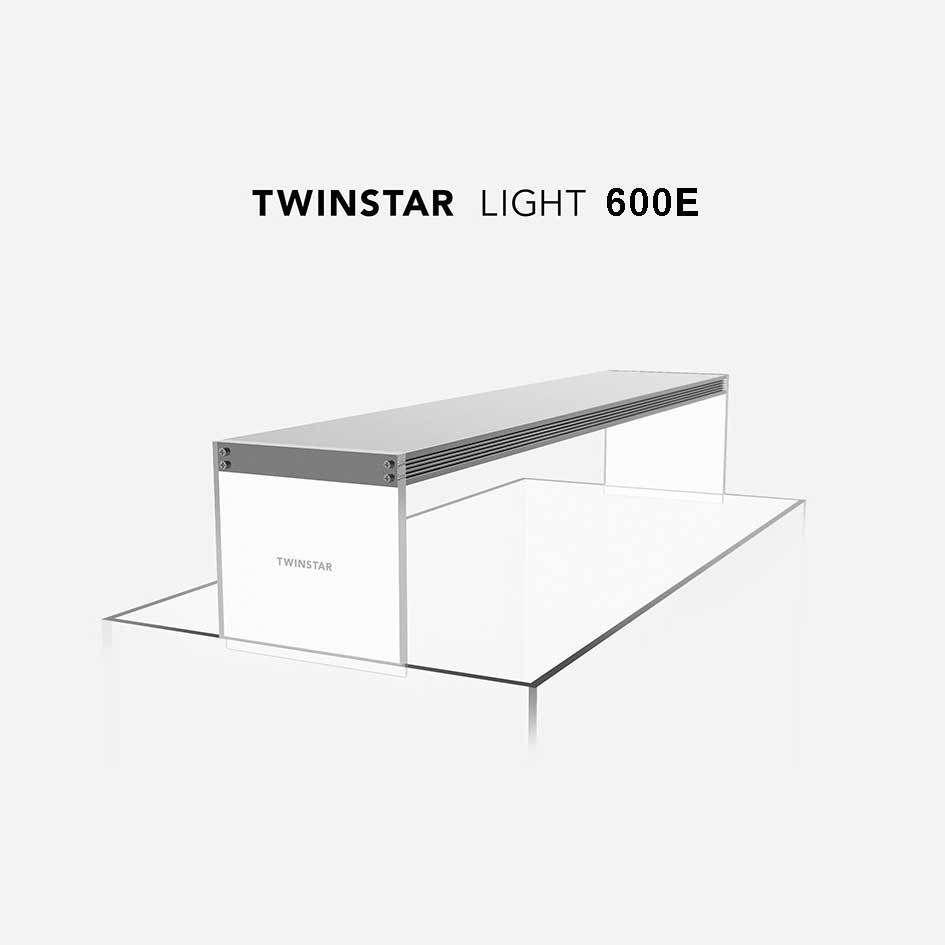 TWINSTAR Light 600E RGB-W Aquarium LED 60cm Full Spectrum for ...