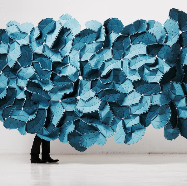 """#ADpickoftheday """"Clouds"""" by @ronanerwanbouroullec for @kvadrattextiles"""
