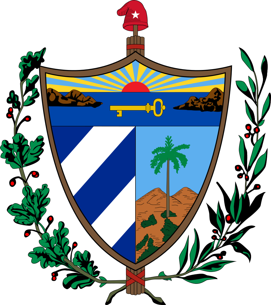 File:Coat of arms of Cuba.svg | Crown thy good | Pinterest