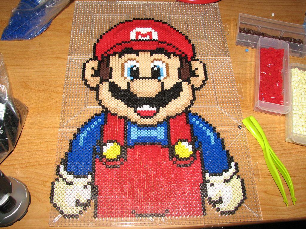 Mario perler beads by ndbigdi on deviantart | Perler | Pinterest ...