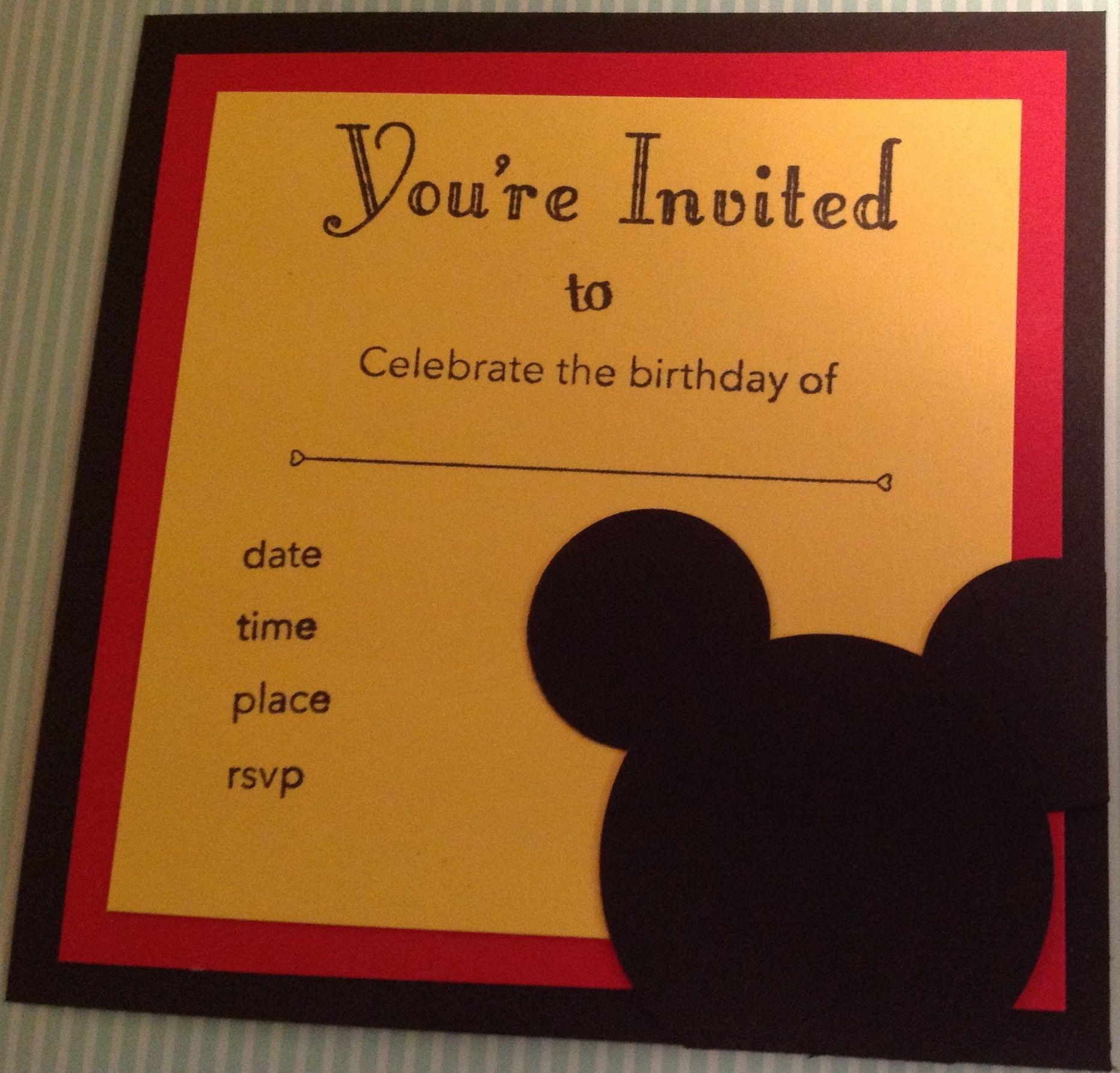 My 30th birthday invites - Disney Theme | Party | Pinterest | Disney ...