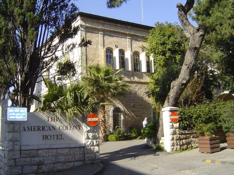 The American Colony Hotel East Jerusalem israeli scenic memories