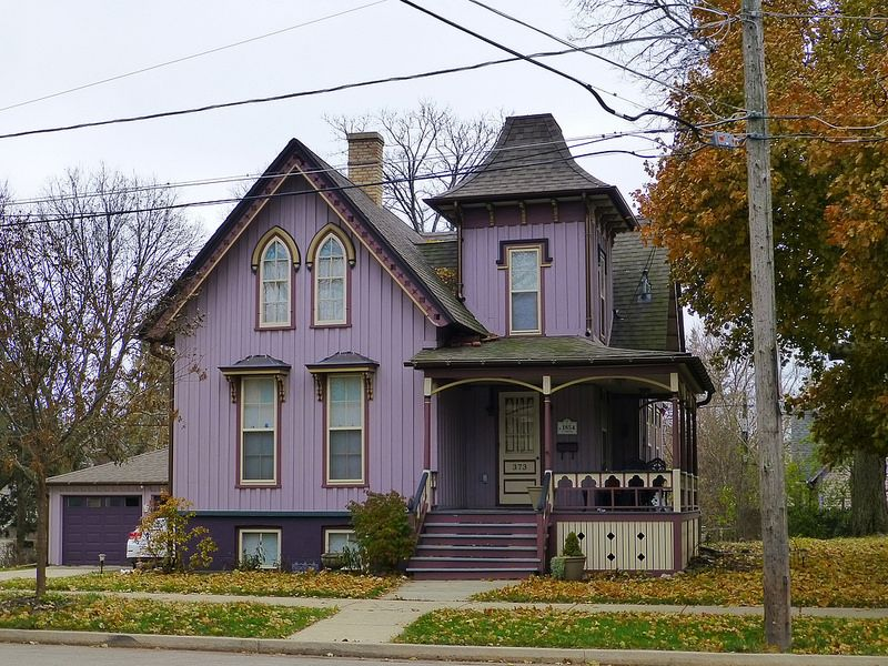 Remarkable Elgin Il Gothic Revival House Magic Town Victorian Interior Design Ideas Clesiryabchikinfo