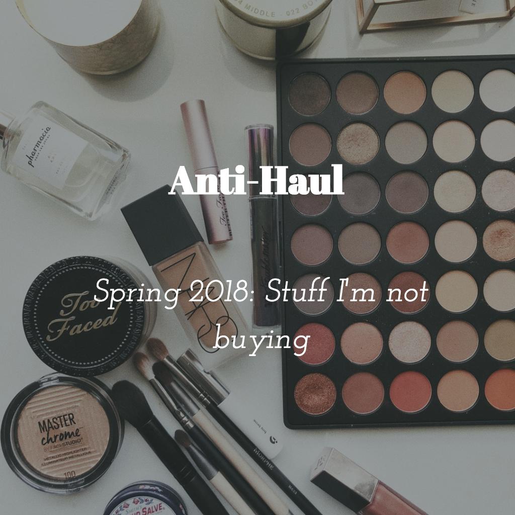 Anti-Haul Blog: What Im Not Buying: Kat Von D Alchemist