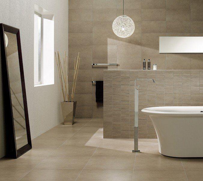 carrelage de salle de bains en grès cérame ADVENTURE  CABOTO - salle de bain carrelee