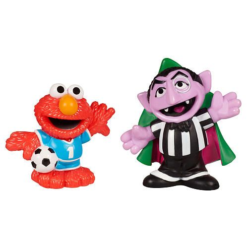 Playskool Sesame Street Figures 2 Pack Count Von Count And