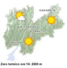 Il servizio meteorologico della Provincia Autonoma di Trento ● http://www.meteotrentino.it/