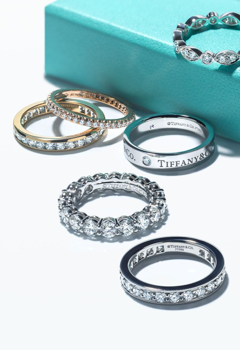 Dazzling options Brilliant styles Tiffany wedding bands can be
