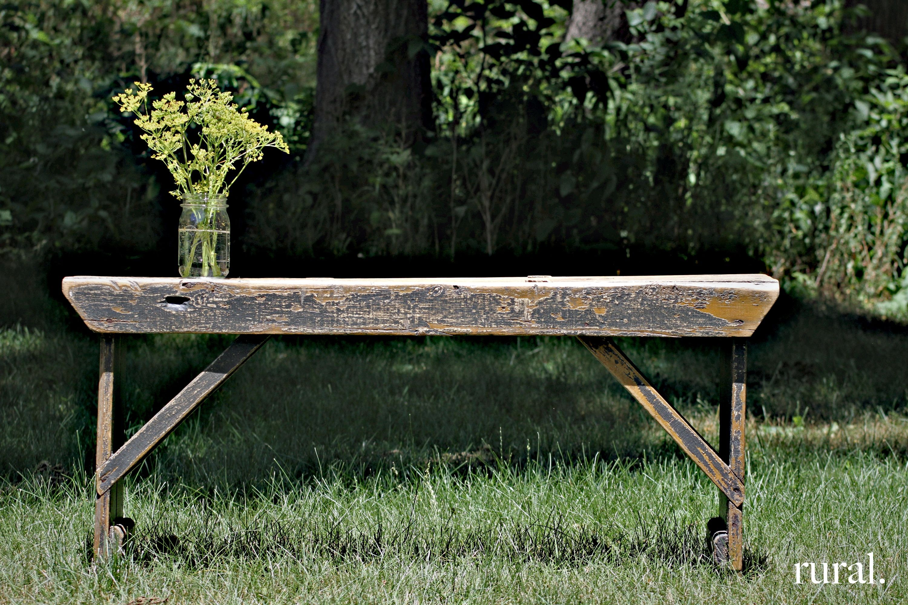 Groovy Primitive Bench Sit With Me In The Garden Old Benches Gmtry Best Dining Table And Chair Ideas Images Gmtryco