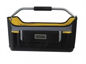 Stanley Tools STA196183 Open Tote Tool Bag 16INCH 1-96-183 RIGID WATERPROOF BASE
