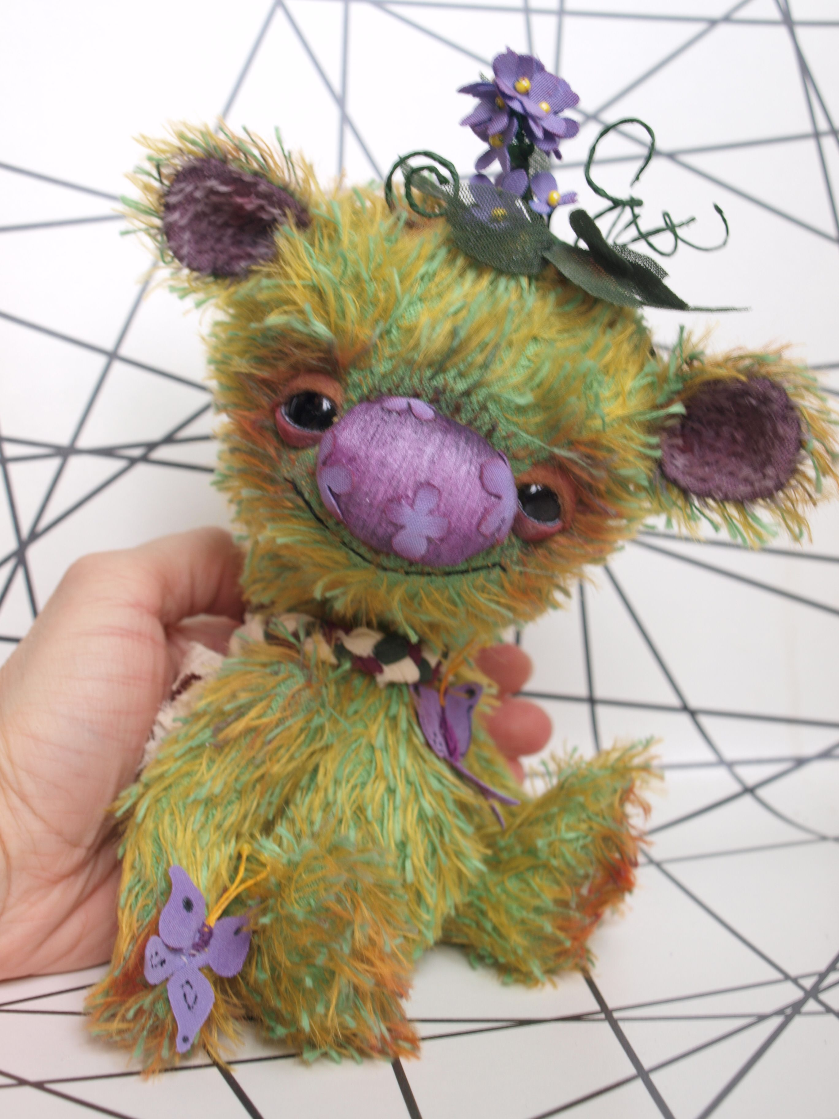 Cute animal pictures image by OOAK Teddy Bears by Starina