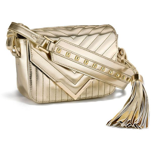 Victoria's Secret Small Crossbody Bag (905 MXN) ❤ liked on Polyvore featuring bags, handbags, shoulder bags, man bag, pu handbag, snap closure purse, crossbody shoulder bag and shoulder handbags