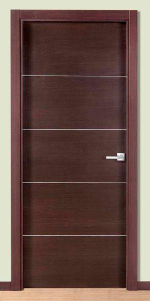 Puertas interior modernas mm puertas for Puertas de madera interiores modernas