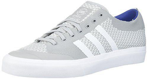 adidas originali degli uomini matchcourt pk pattinare pattinare pattinare scarpa, grigio / bianco / gomma due 78a769