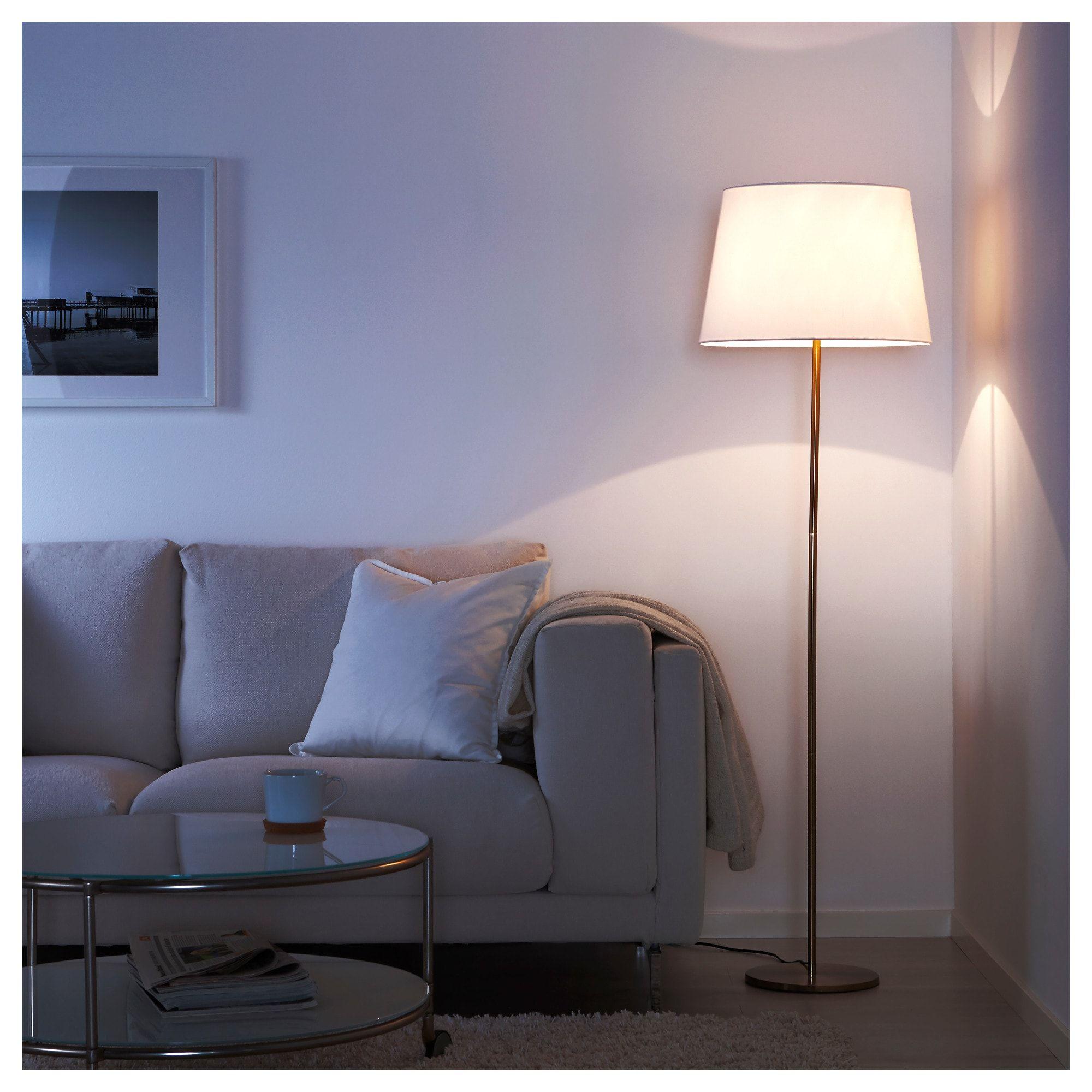Standleuchtenfuss Rodd Messingfarben Bodenlampe Stehlampe Und