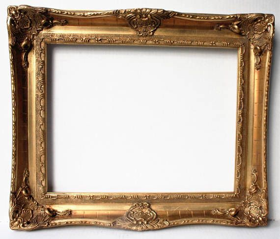 Large Gold Ornate Picture Frames Baroque Wedding Frame Rococo Wood ...